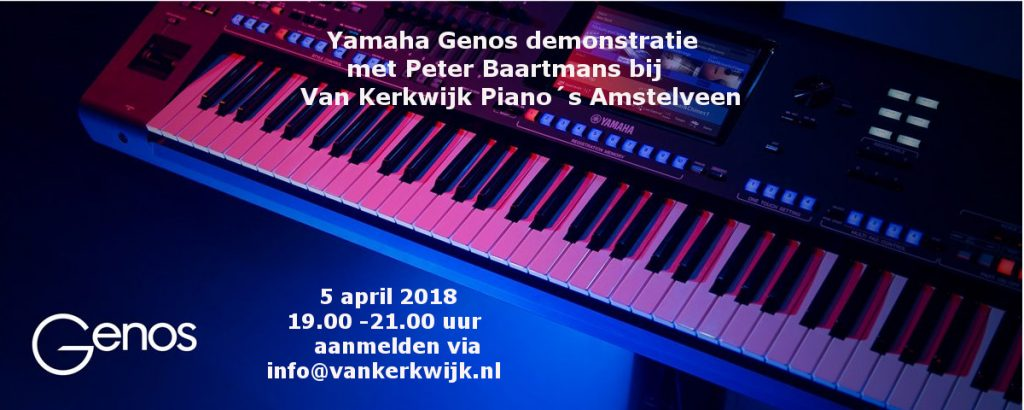 Yamaha Genos Demonstratie