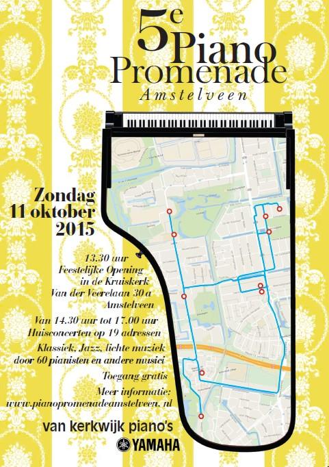5de Piano Promenade Amstelveen
