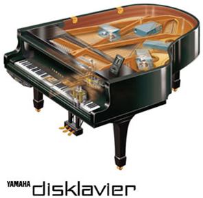 Yamaha disklavier vleugels